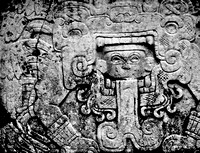 Carvings at Chichen Itza Mexico