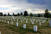 Little Bighorn Cemetery, Crow Reservation, Montana