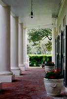 Outside Veranda - Oak Alley Plantation - Vacherie, LA